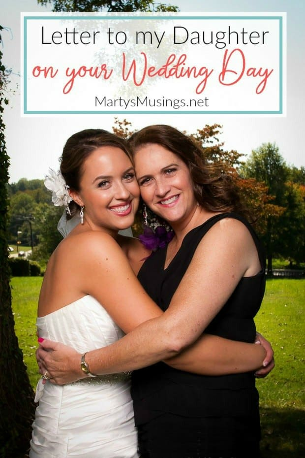 Letter From A Mother To Daughter On Her Wedding Day
