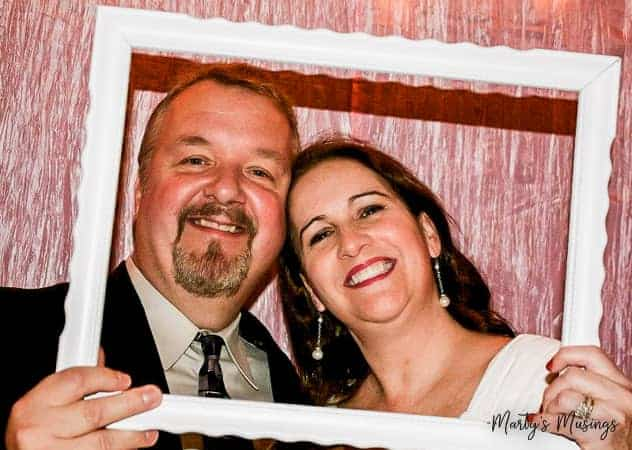 Celebrate a milestone wedding celebration with a 25th anniversary photo booth! Ideas include backdrop, props and ways to include family and friends.