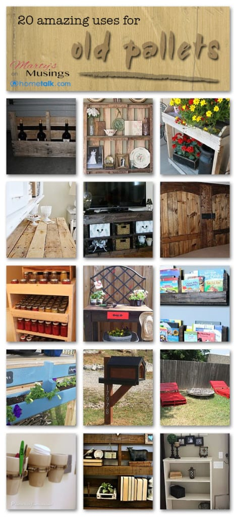 20 Amazing Uses for Old Pallets