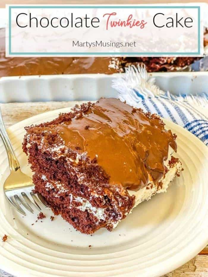Chocolate Twinkies Cake