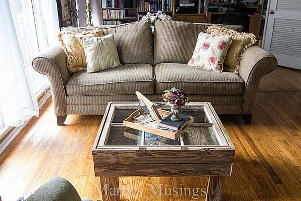 How to Make a Window Table for the Rustic Look