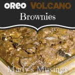 Oreo Volcano Brownies from Marty's Musings