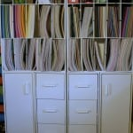 Scrapbook Room 12x12 Paper Storage - Marty's Musings