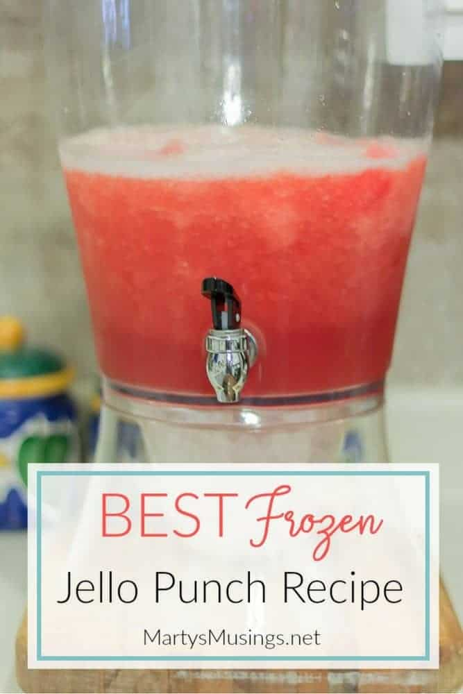 Frozen jello punch recipe make ahead and freeze everyone will love this frozen jello punch a favorite easy recipe to prepare ahead of junglespirit Image collections