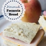 Homemade Focaccia Bread (made easy with the bread machine!) - Marty's Musings