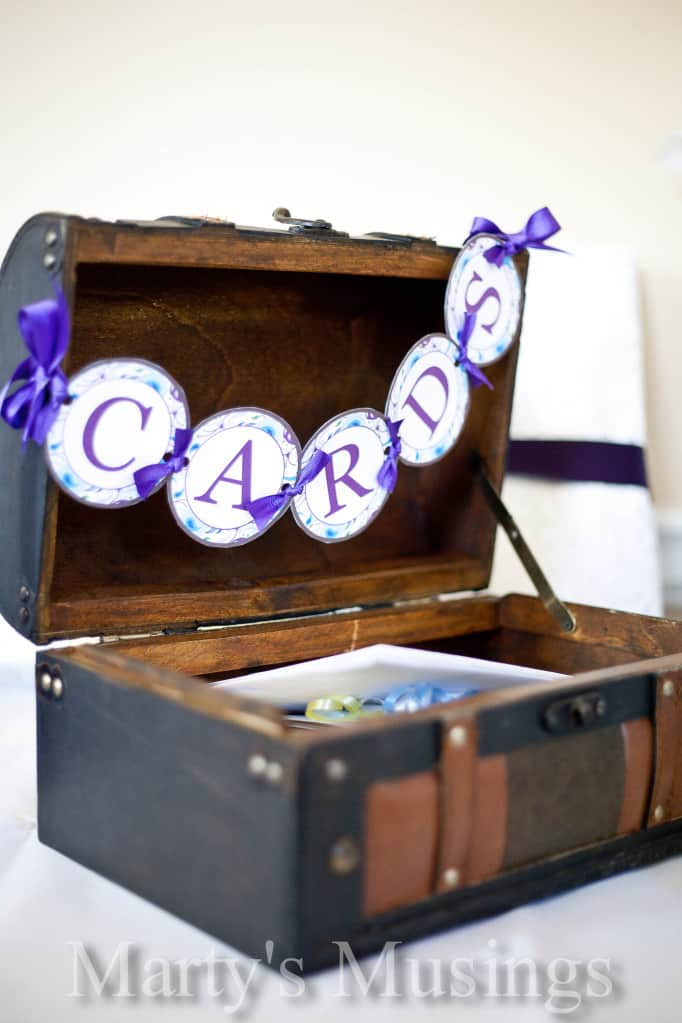 Where to Store Gift Cards for a Wedding