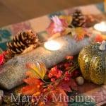 Branch Candle Centerpiece