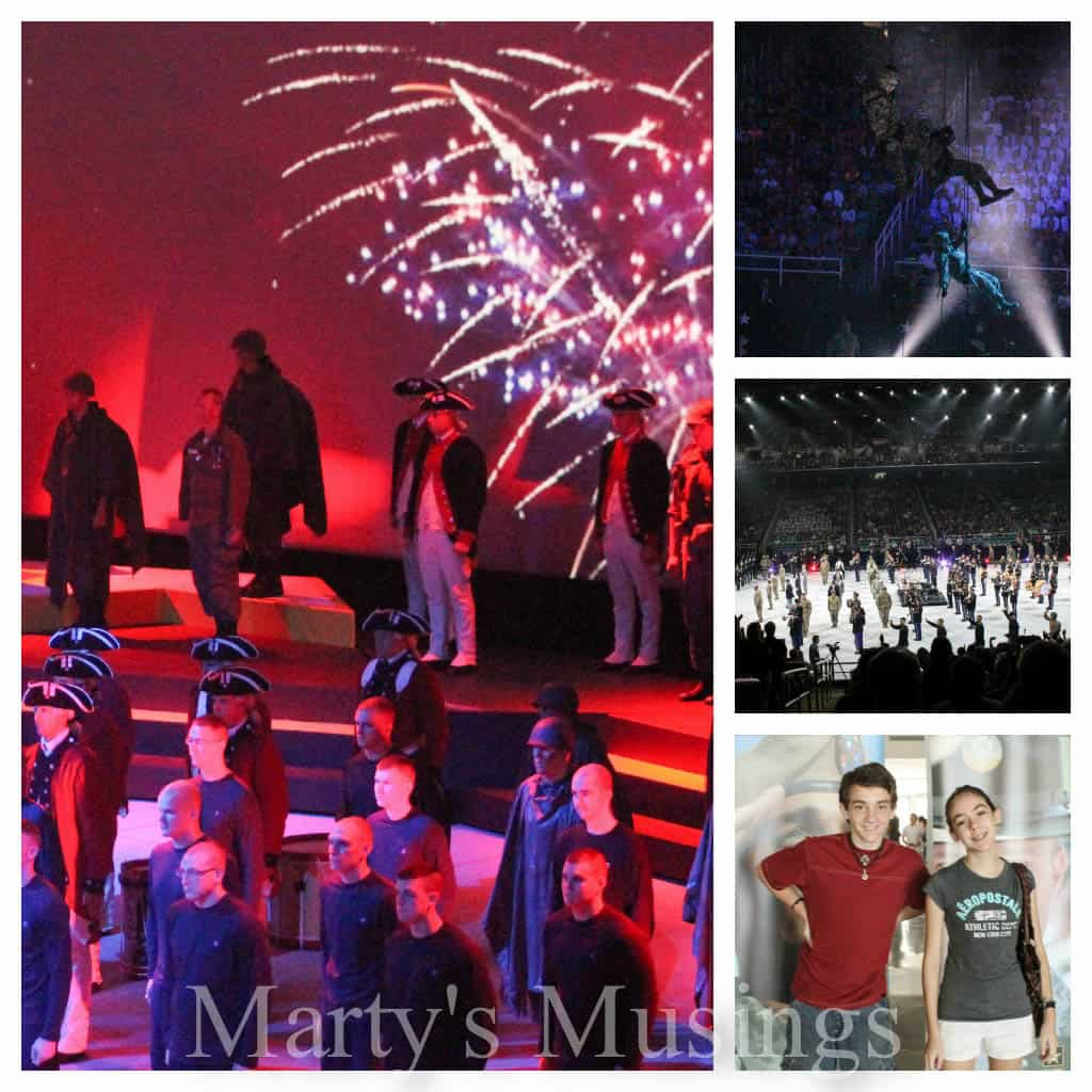4 pictures of Spirit of America (armed services production)