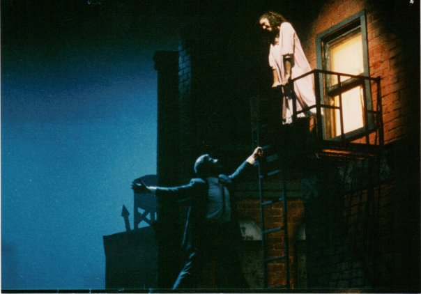 Tony and Maria in West Side Story