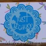 Using the Cricut to make Handmade Cards