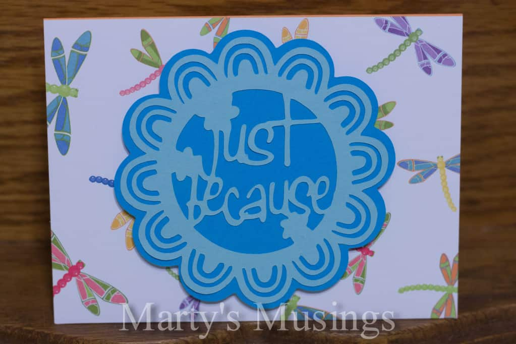 Handmade Cards with the Cricut Machine