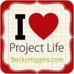 I Love Project Life from Marty's Musings