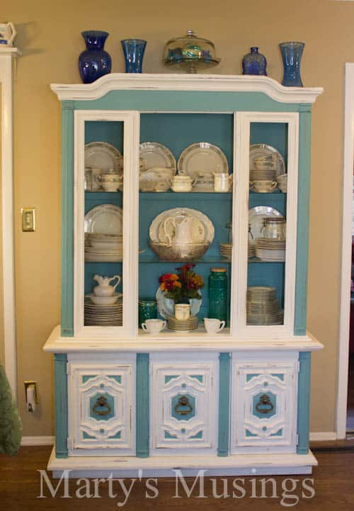 How to Chalk Paint Furniture by Marty's Musings