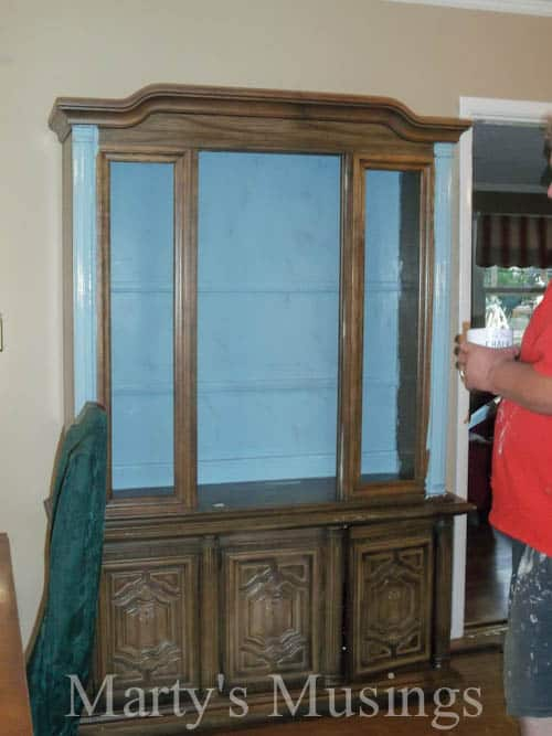 Painting Dark Wood Furniture With Chalk Paint