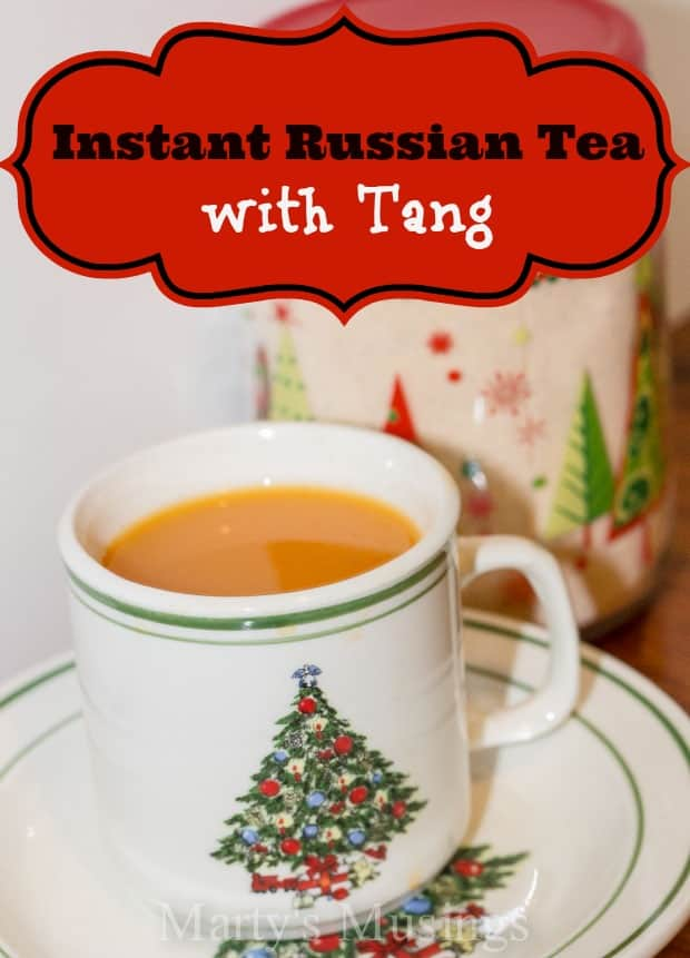 Instant Russian Tea with Tang