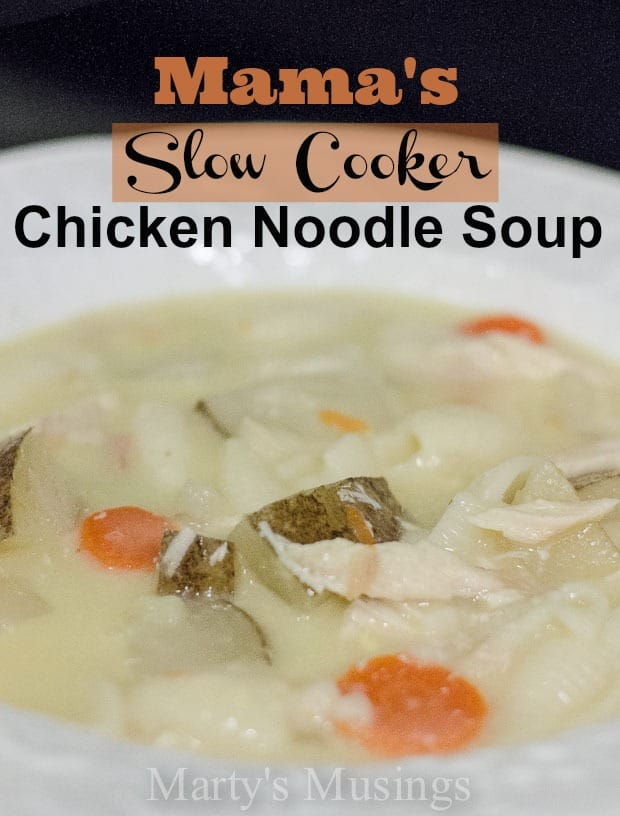 Mama's Slow Cooker Chicken Noodle Soup