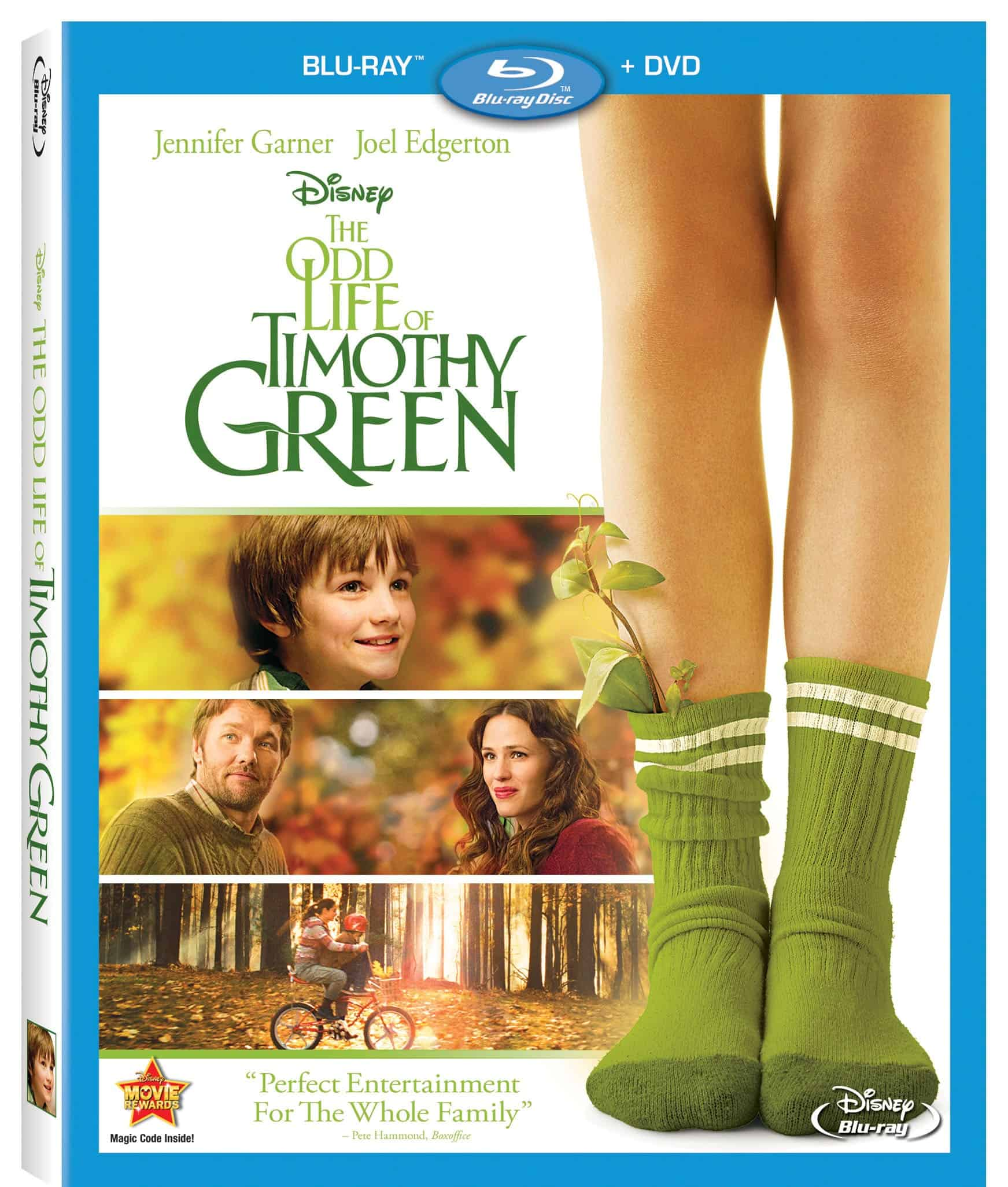 The Odd Life of Timothy Green DVD Giveaway