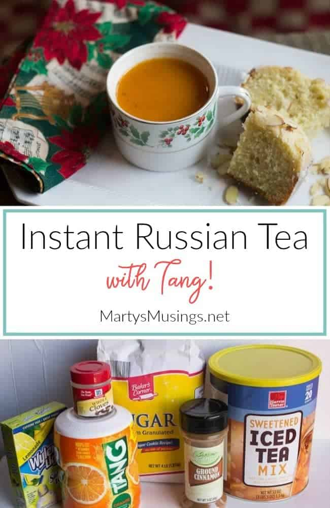 Instant Russian Tea recipe with Tang