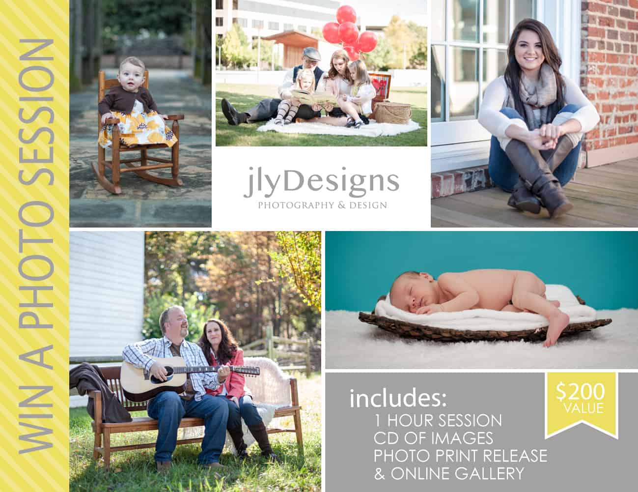 Free Photo Session from jlyDesigns