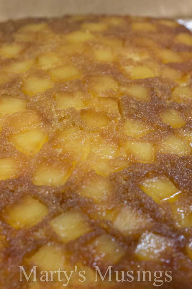 Easy Pineapple Upside-Down Cake by Marty's Musings-10