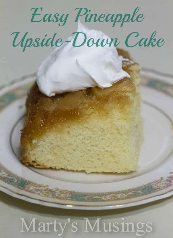 Easy Pineapple Upside-Down Cake by Marty's Musings-11