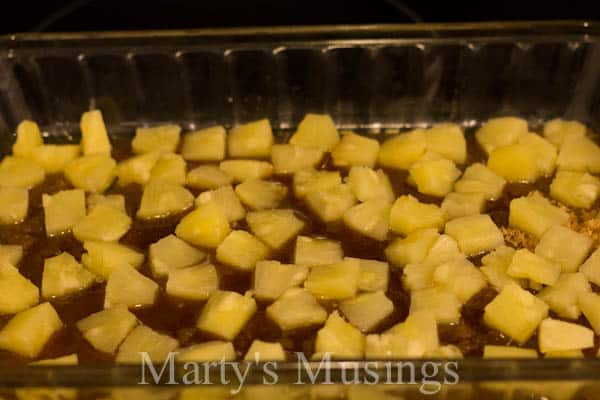 Easy Pineapple Upside-Down Cake by Marty's Musings-5