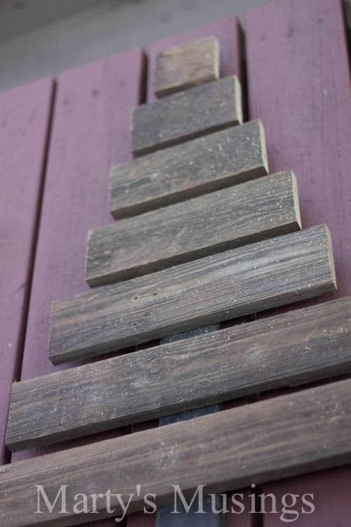 Scrap Wood Christmas Tree Repurposed Diy Tutorial