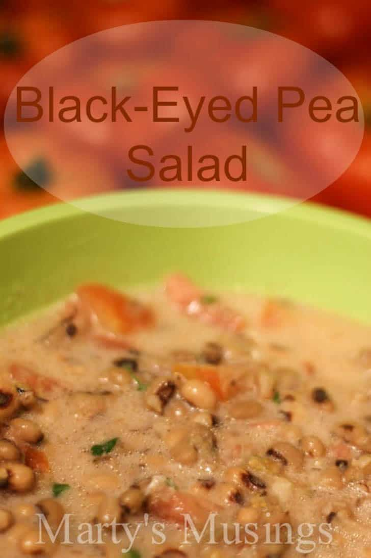Black-Eyed Pea Salad by Marty's Musings