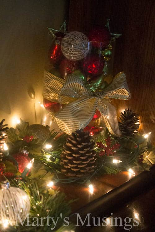 No Mantel? No Problem! from Marty's Musings