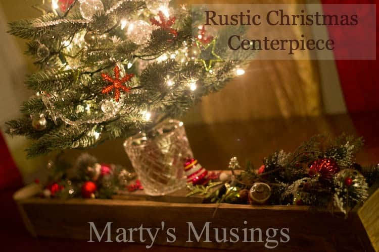 Rustic Christmas Centerpiece