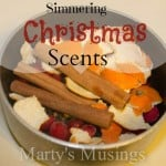 Simmering Christmas Scents