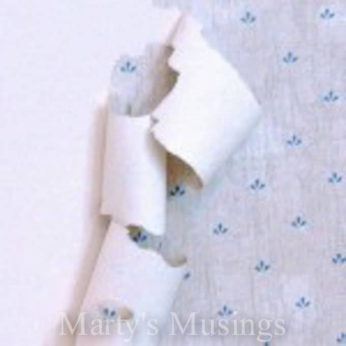 What to do about Peeling Wallpaper from Marty's Musings