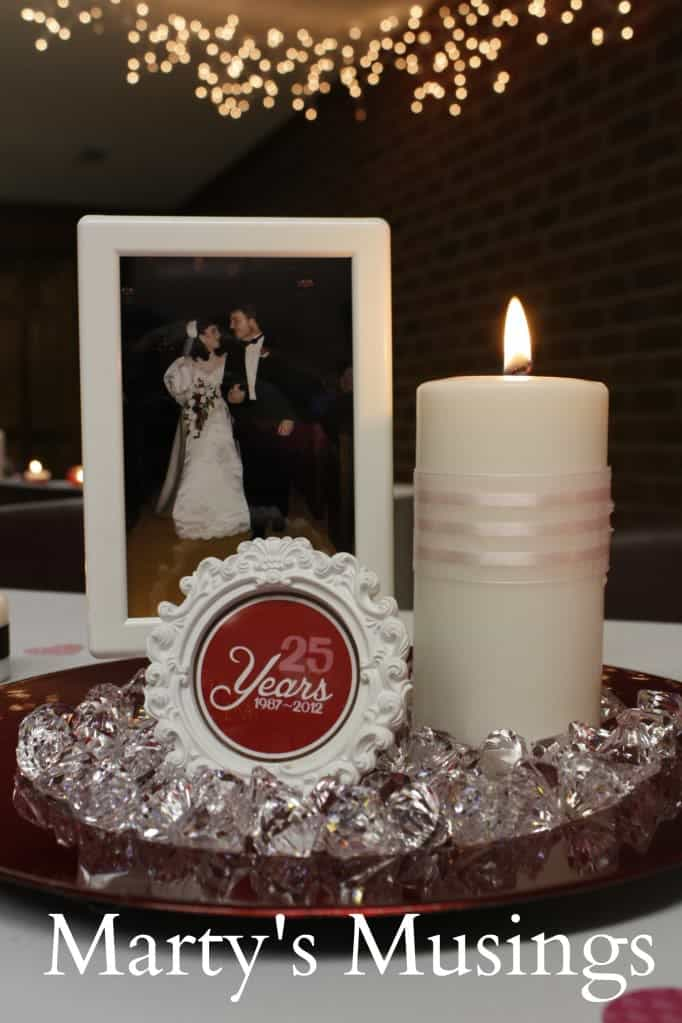 Decoration ideas for 25th wedding anniversary grand for 25th birthday decoration ideas
