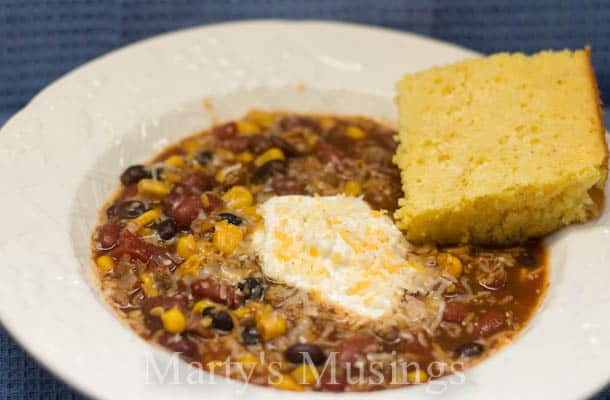 Mama's Taco Soup from Marty's Musings