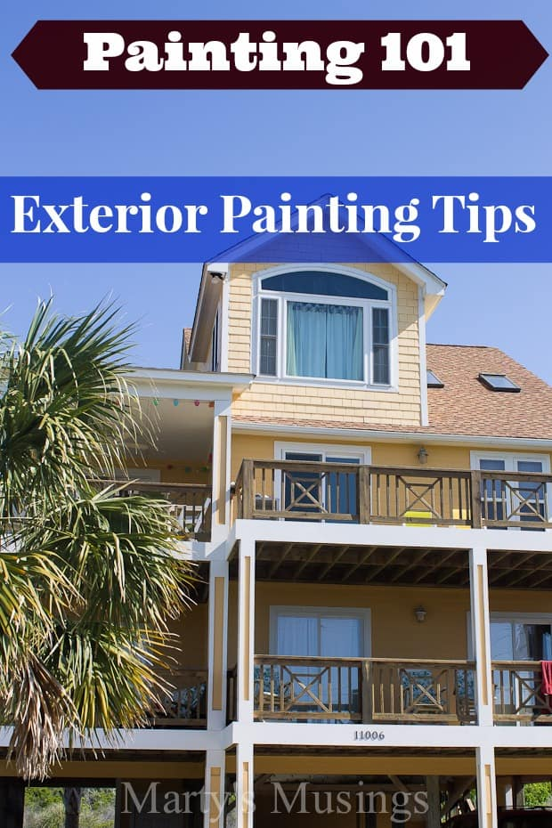 Painting 101 Exterior Painting Tips
