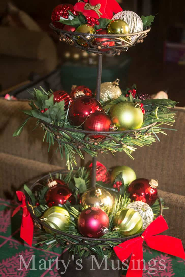 Easy and thrifty christmas decorating ideas for Thrifty decor