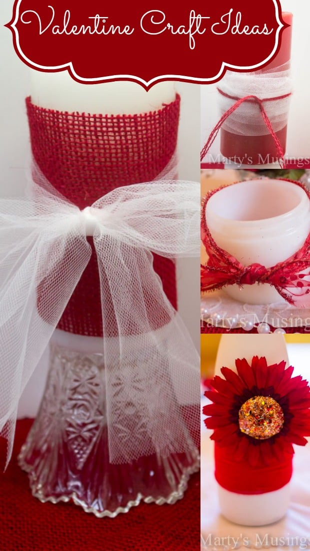 Valentine Craft Ideas from Marty's Musings