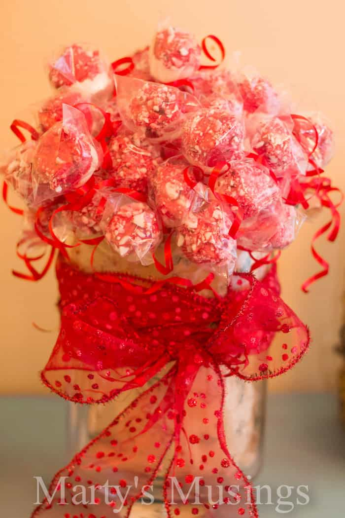 Valentine Marshmallow Pops from Marty's Musings