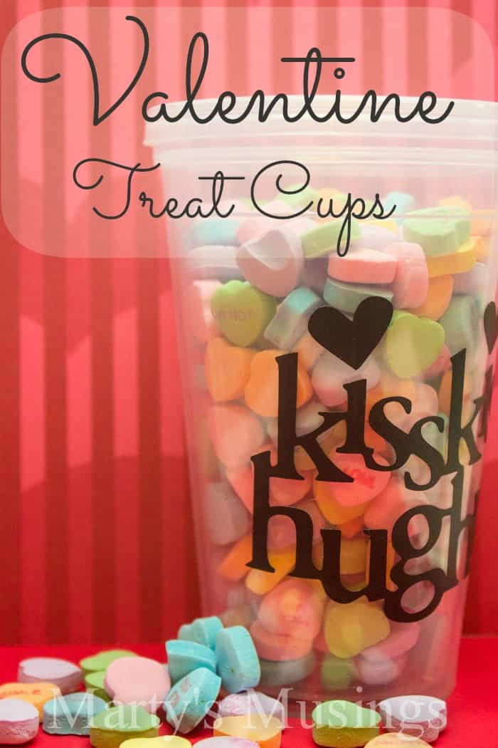 ValentineTreat Cups from Marty's Musings