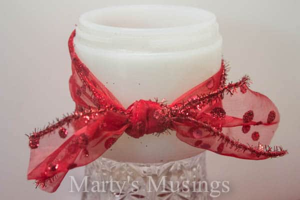 Valentine's Candles from Marty's Musings