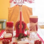 Valentine's Centerpiece from Marty's Musings