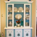 Chalk Painted Hutch from Marty's Musings