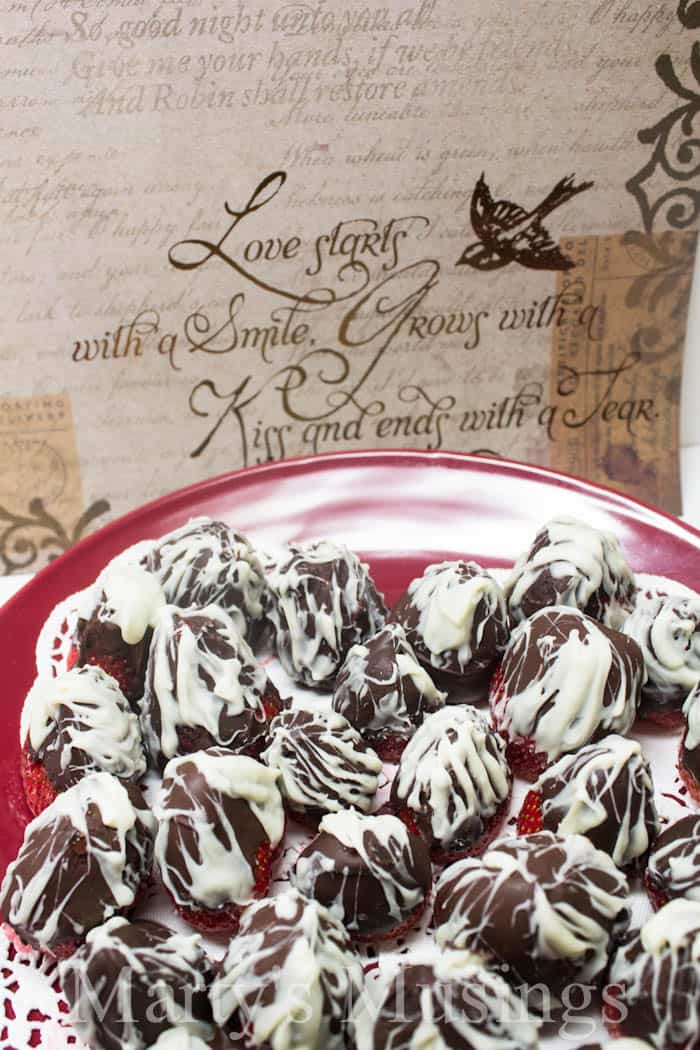 Chocolate Covered Strawberries from Marty's Musings-2
