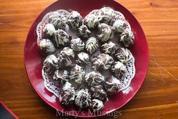 Chocolate Dipped Strawberries from Marty's Musings