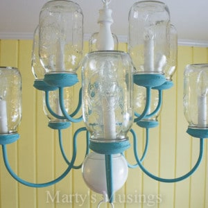 DIY Mason Jar Chandelier-12
