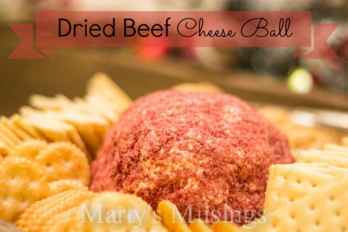 Dried Beef Cheese Ball from Marty's Musings