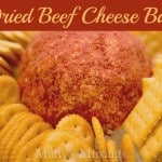 Dried Beef Cheeseball from Marty's Musings