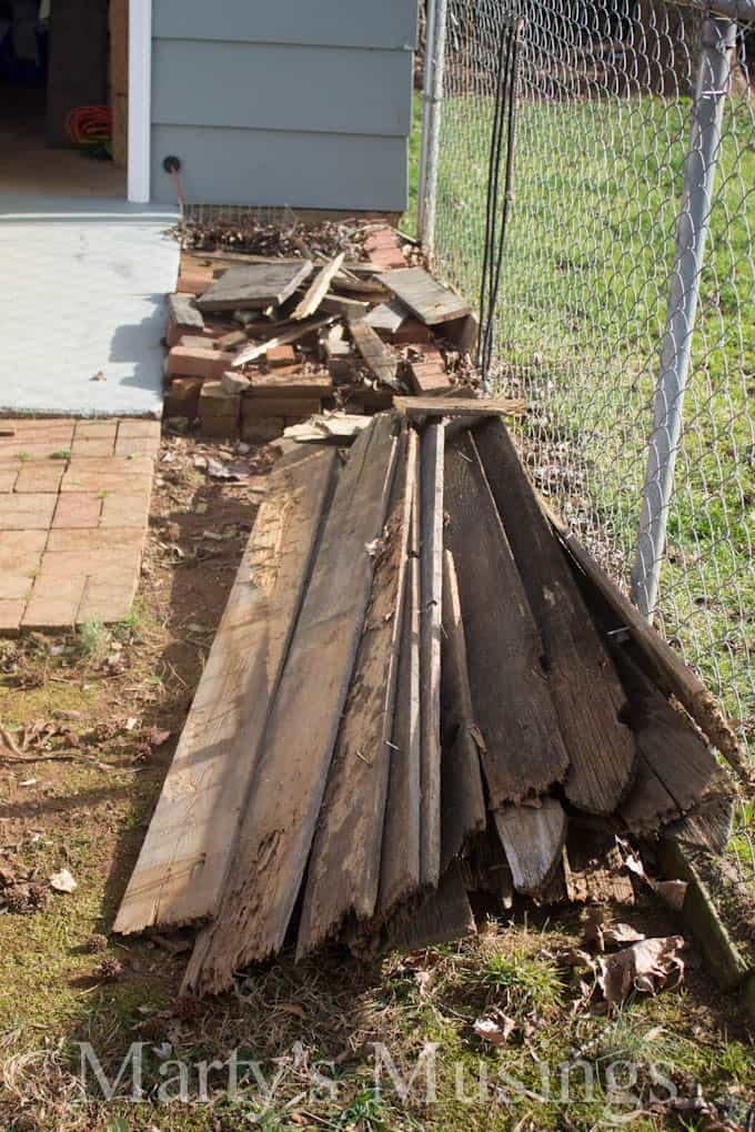Fence Board Projects - Marty's Musings