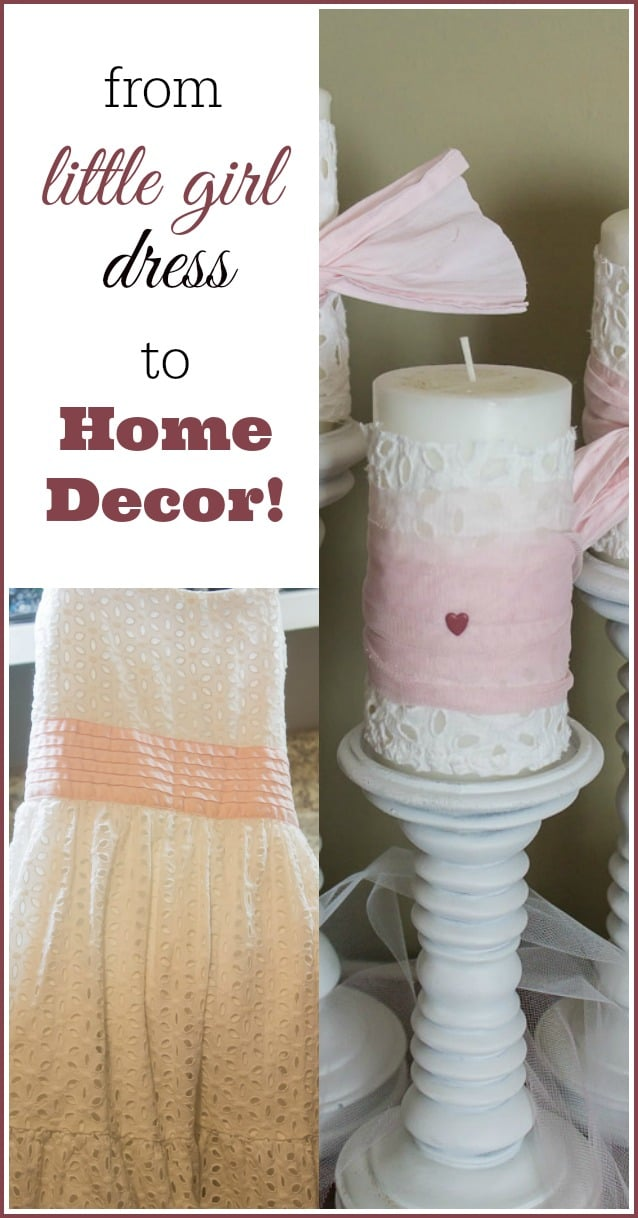 Marty's Musings show you how to take a precious little girl's dress and preserve its memory by using it in your home decor! Included are more easy, thrifty Valentine decorating ideas that will give you reason to celebrate!