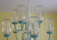 Mason Jar Chandelier by Martys Musings